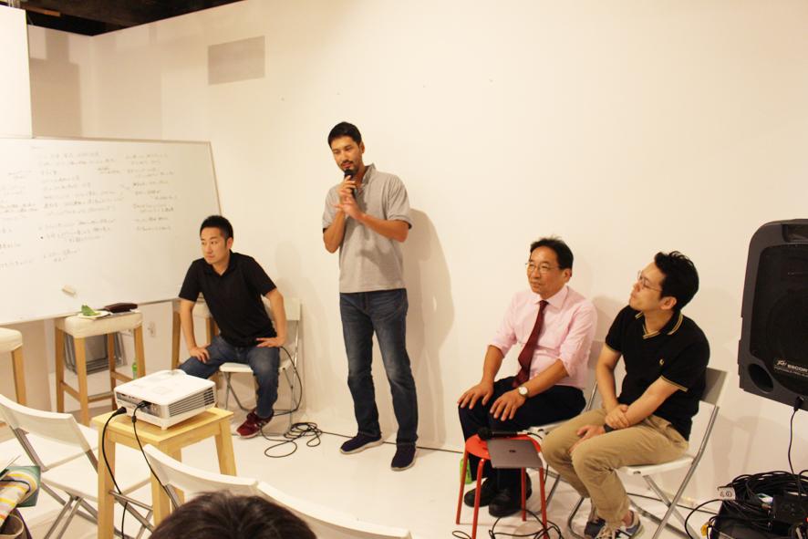 第二部の終わり、鈴木直文座長(左から二人目)による総括